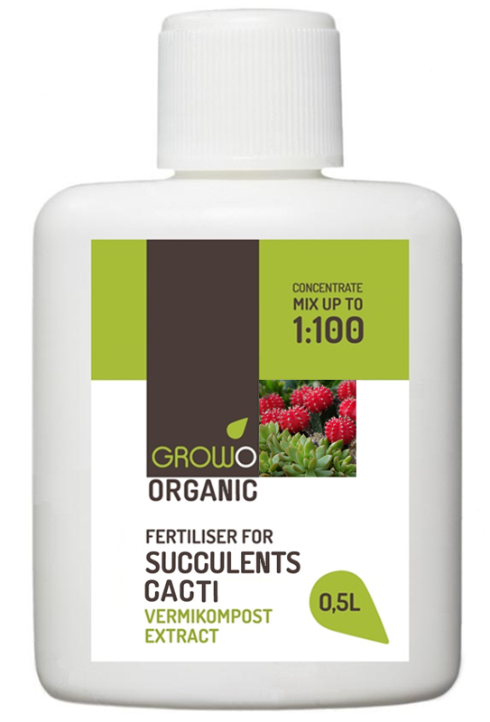 Organiskais mēslojums sukulentiem  un kaktusiem 0,5L