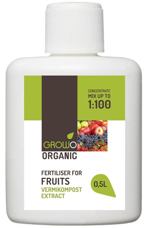 Organiskais mēslojums augļiem 0,5L