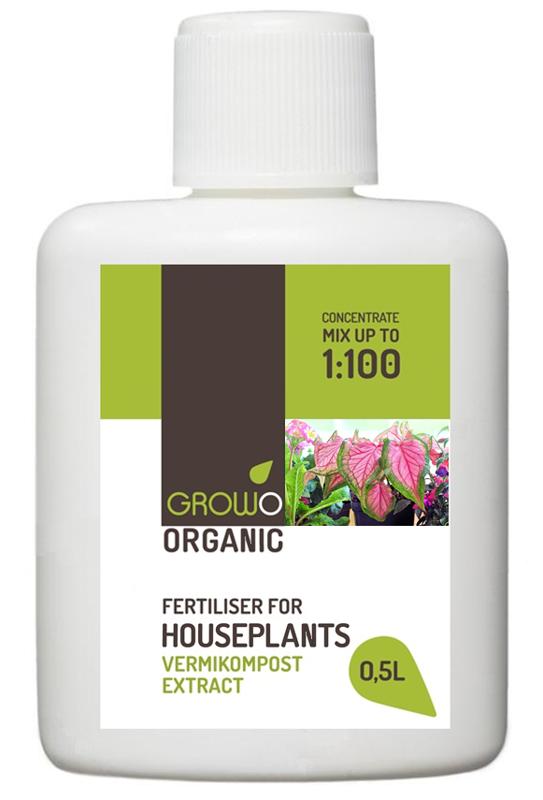 Organiskais mēslojums istabas augiem 0,5L