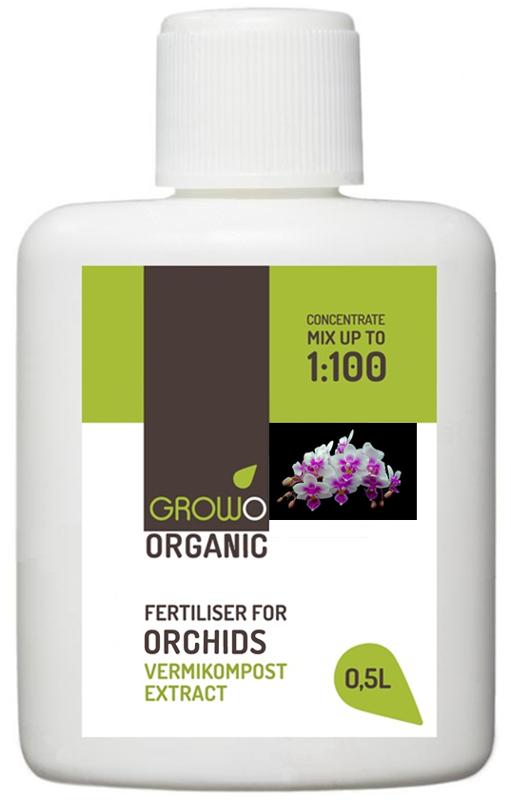 Organiskais mēslojums orhidejām 0,5L