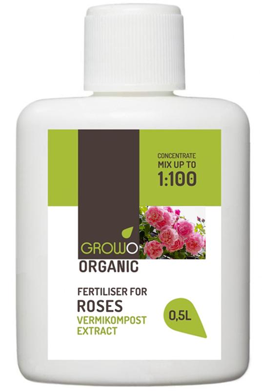 Organiskais mēslojums rozēm 0,5L