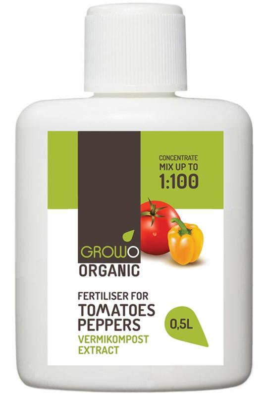 Organiskais mēslojums tomātiem un pipariem 0,5L