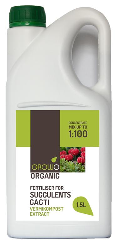 Organiskais mēslojums sukulentiem un kaktusiem 1.5L
