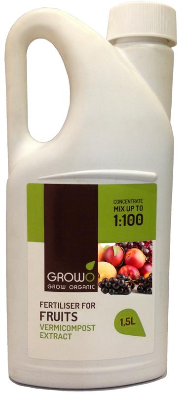 Organiskais mēslojums augļiem 1,5L