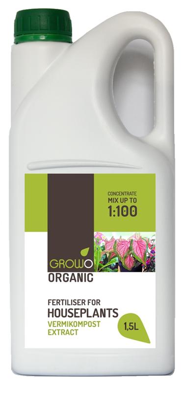 Organiskais mēslojums istabas augiem 1,5L