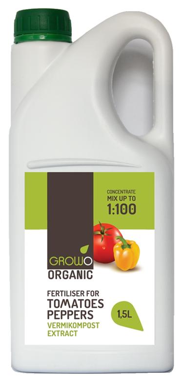 Organiskais mēslojums tomātiem un pipariem 1,5L