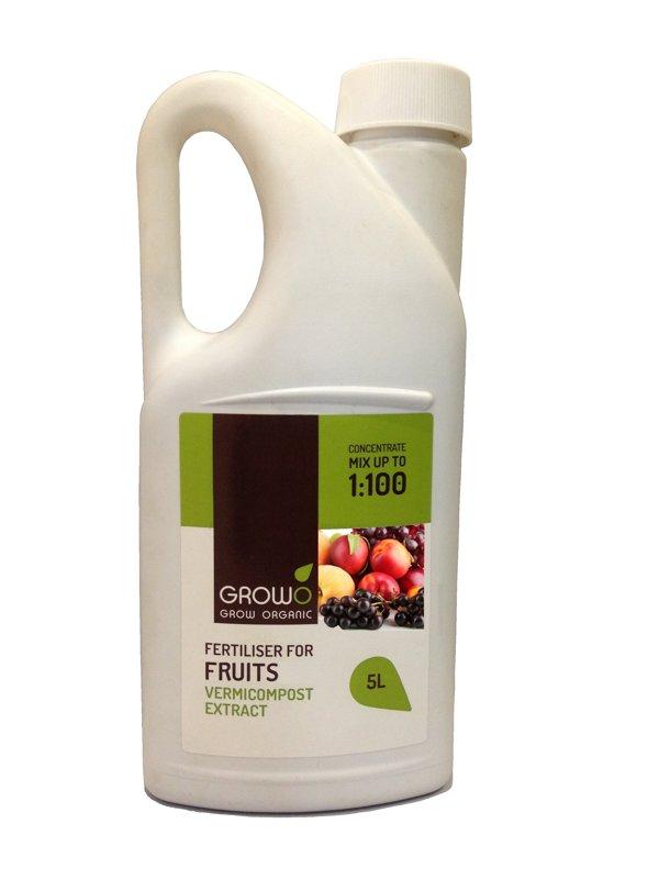 Organiskais mēslojums augļiem 5L