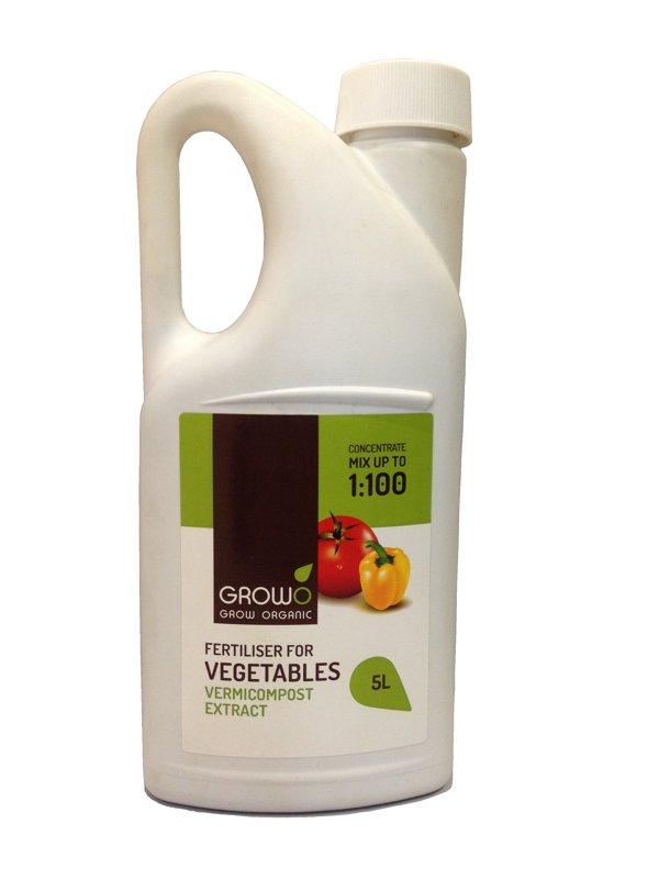 Organiskais mēslojums dārzeņiem 5L