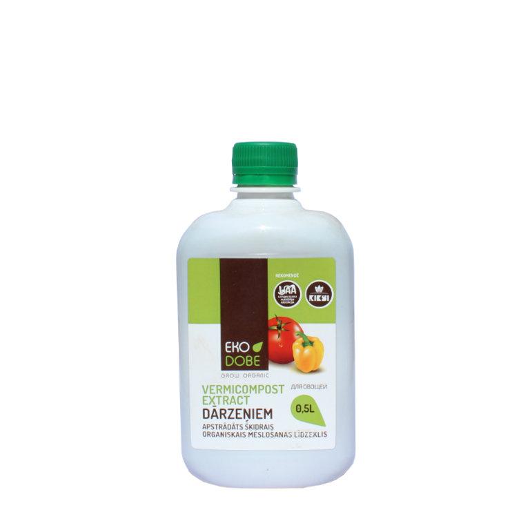 Organiskais mēslojums dārzeņiem 0.5L