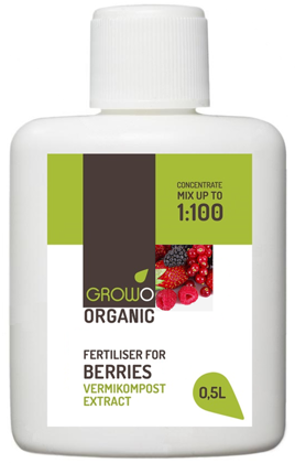 Vermicompost extract for BERRIES 0,5L