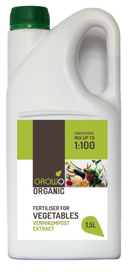 Organiskais mēslojums dārzeņiem 1.5L